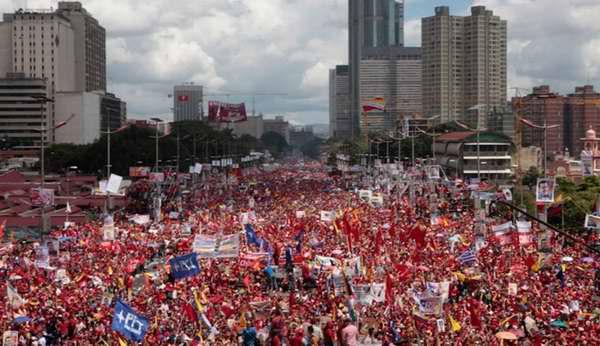 Gran movilizaci�n en Caracas para este viernes