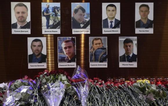 Luto en Rusia por accidente aéreo