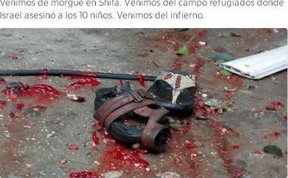 M�s palestinos muertos