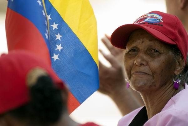 Chávez vive en el corazón nuestro, en el pueblo