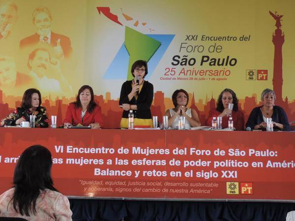 Concluye hoy en M�xico XXI Encuentro del Foro de Sao Paulo