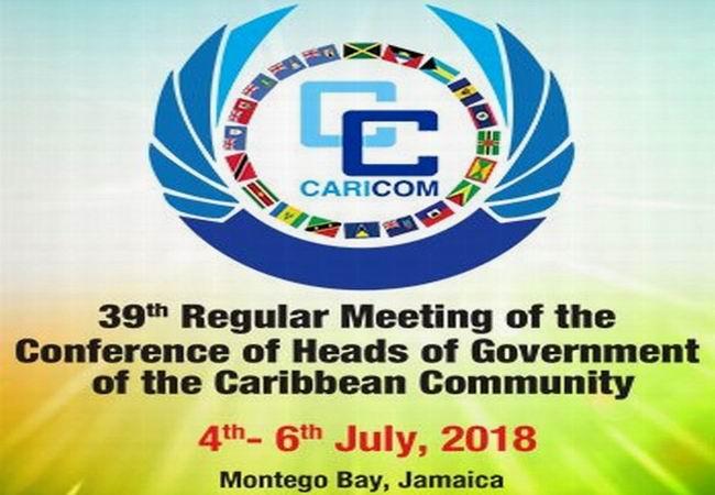 En Jamaica reunión de jefes de Gobierno del CARICOM