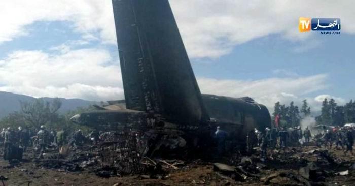 Mueren 257 personas en accidente aéreo en Argelia