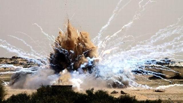 Nuevo bombardeo de Estados Unidos a Siria con fósforo blanco