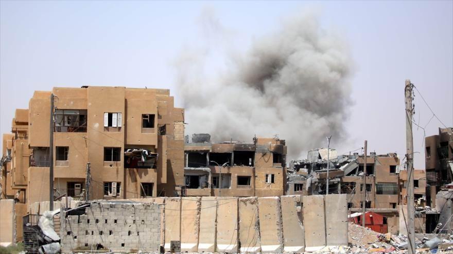 Cancillería siria denuncia bombardeos de EE.UU. contra civiles