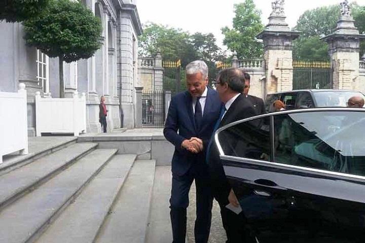Califican de positivas relaciones mutuas entre Bélgica y Cuba