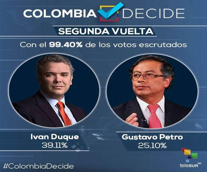 Habrá segunda vuelta en Colombia