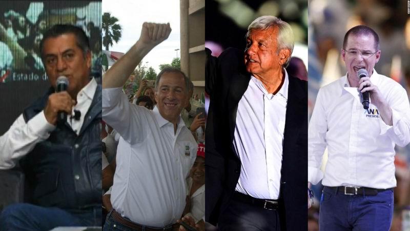 Candidatos presidenciales cierran sus campañas en México