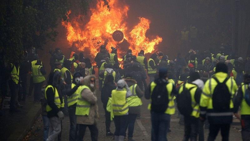 Tensa calma en Francia vísperas de nuevas manifestaciones de protestas