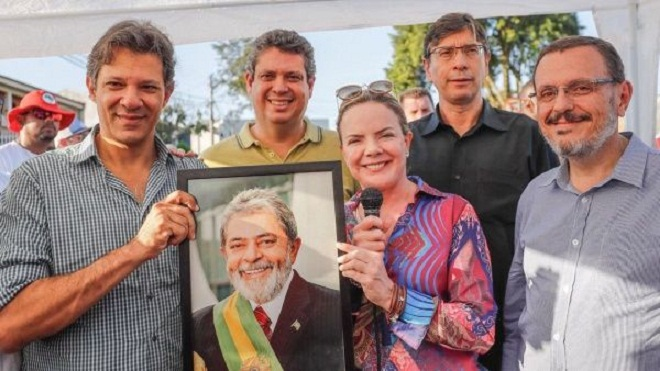 Partido de los Trabajadores presenta el plan de Gobierno de Lula