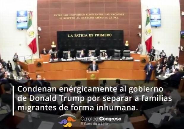México prevé cesar relación con EE.UU. por política migratoria