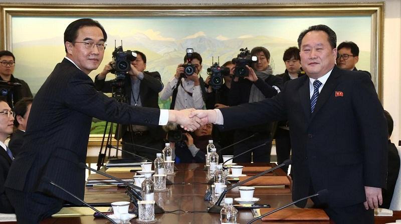 Sostienen las dos Coreas sus primeras negociaciones militares