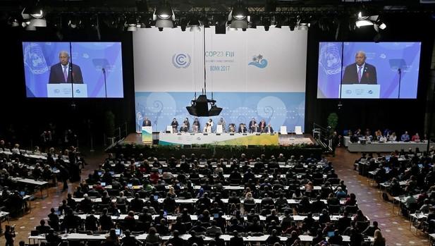 Sesiona en Bonn Cumbre de la ONU sobre el clima