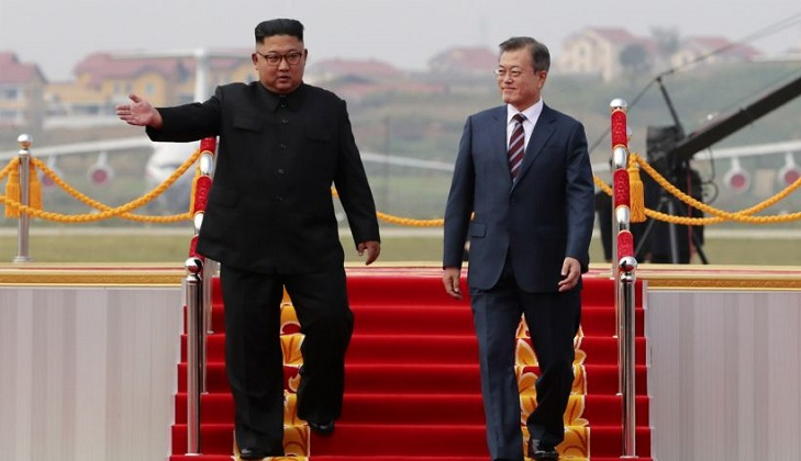 Acuerdan las dos Coreas erradicar la amenaza de guerra en la península