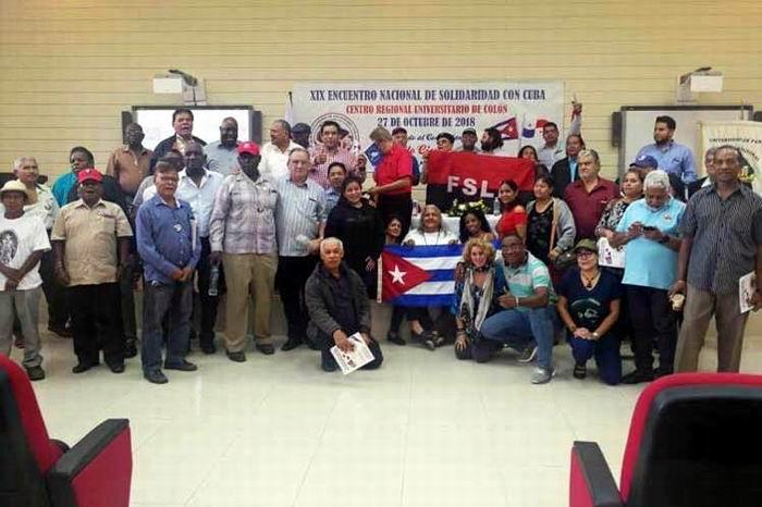 Condenan desde Panamá bloqueo de Estados Unidos a Cuba