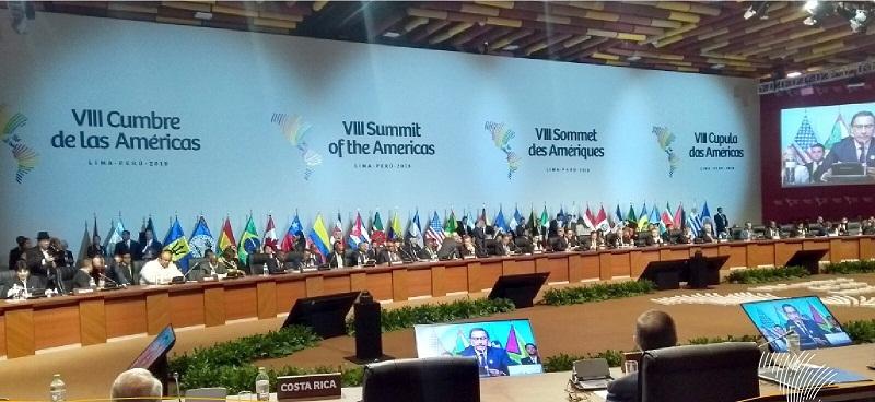 Aprueban Compromiso de Lima sobre gobernabilidad y corrupción