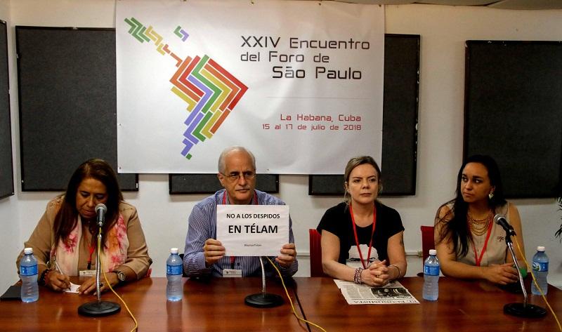 Los pueblos de América Latina reclaman la liberación de sus líderes