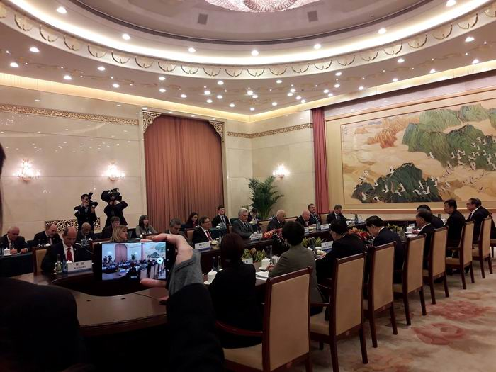 Amplia agenda de trabajo de Díaz-Canel en Beijing
