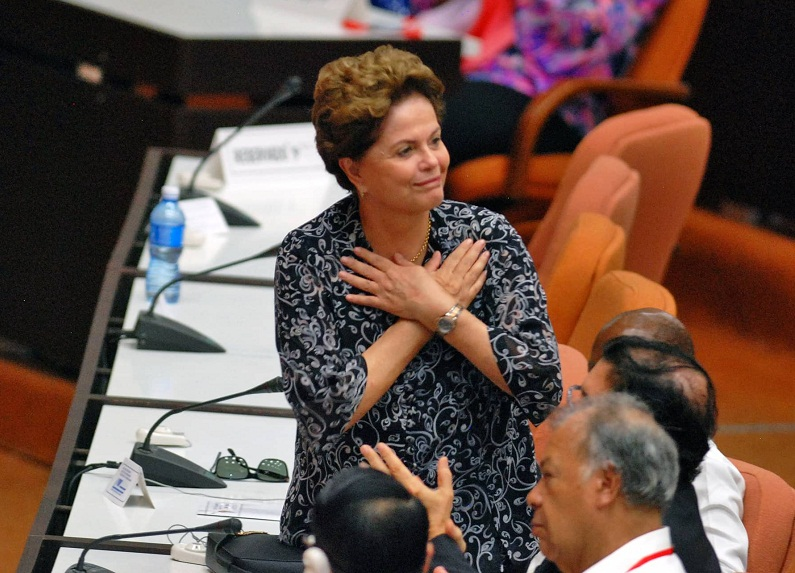 Resistance is what Brazil needs, says Dilma Rousseff