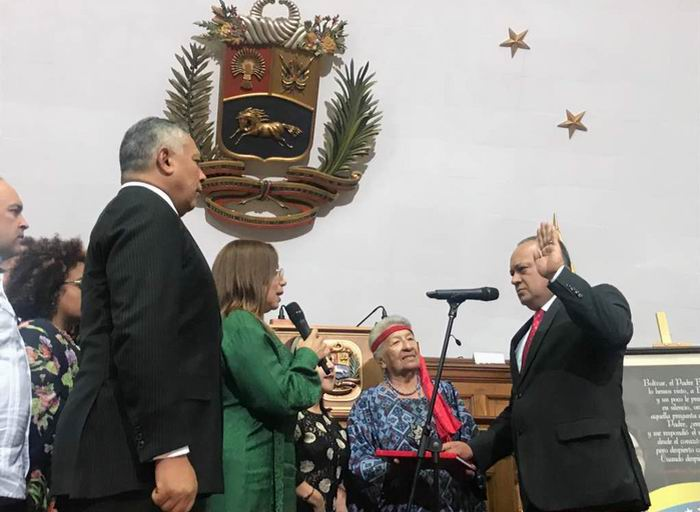 Diosdado Cabello, nuevo presidente de la ANC de Venezuela