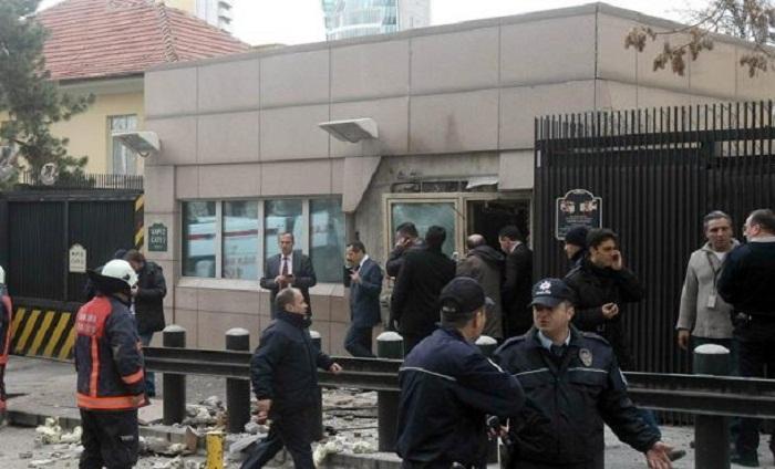 Atacan con disparos a la embajada de Estados Unidos en Turquía
