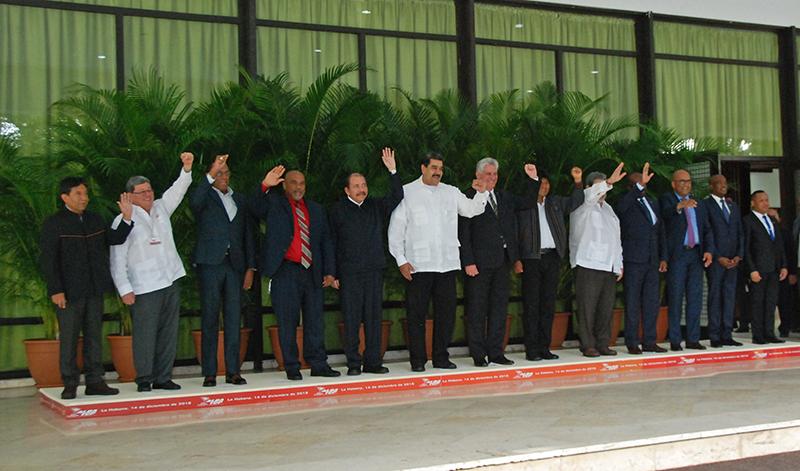 Declaración de la XVI Cumbre del ALBA-TCP