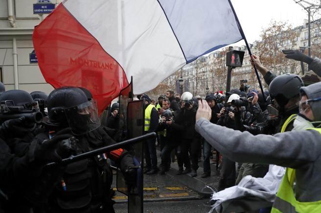 Anuncios de nuevas protestas este fin de semana en Francia