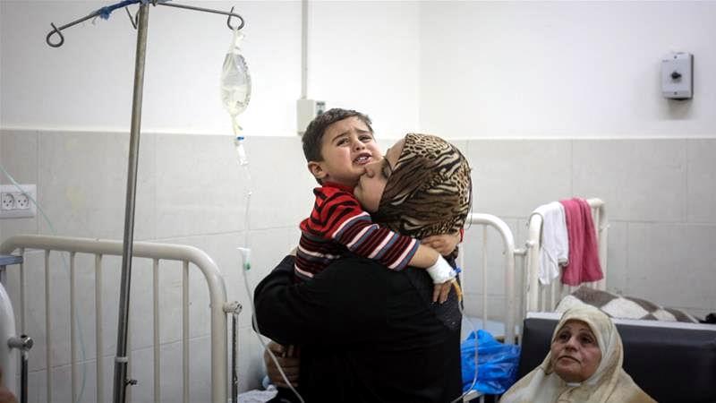 Gaza con problemas en el sector sanitario
