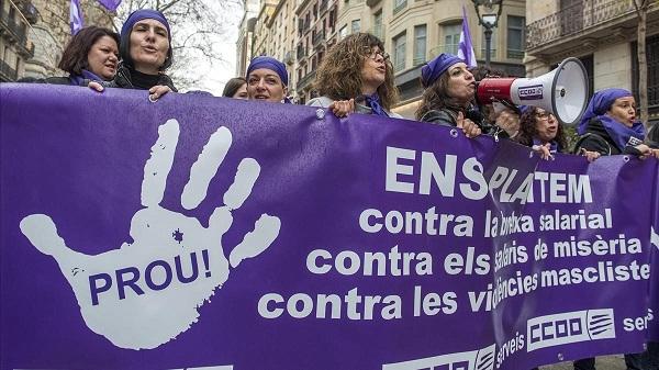 Transcurre primera huelga mundial feminista