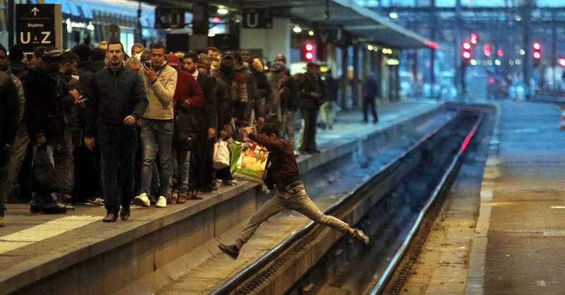 Huelgas en el transporte ferroviario de Francia