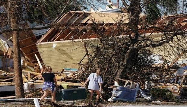 Sube cifra de víctimas por el huracán Michael en Estados Unidos