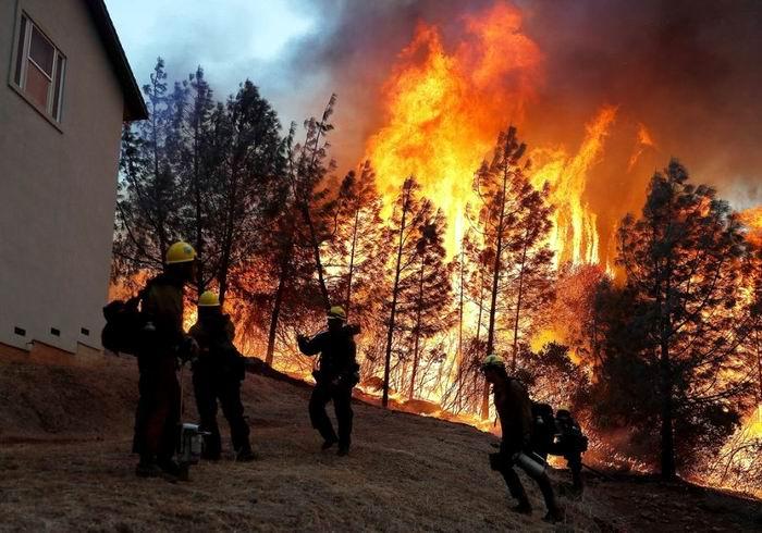 Crece el número de víctimas por incendios forestales en California