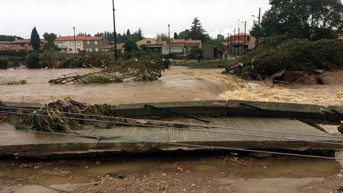 Causan las intensas lluvias seis muertos en Francia