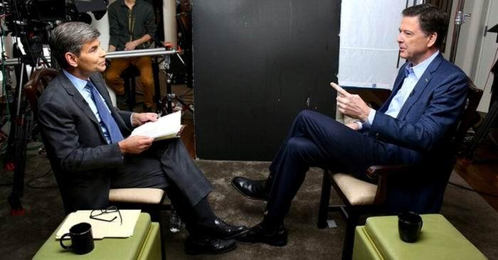 James Comey en entrevista