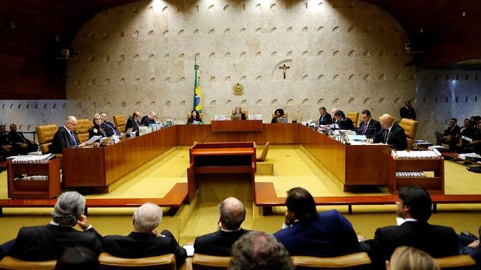 Jueces del Supremo Tribunal votan en contra de Lula