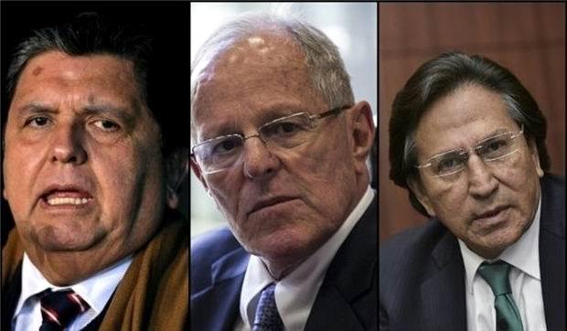 Investigarán a expresidentes de Perú por caso Odebrecht