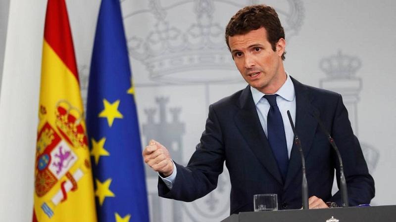 Imputan al nuevo líder de la derecha española