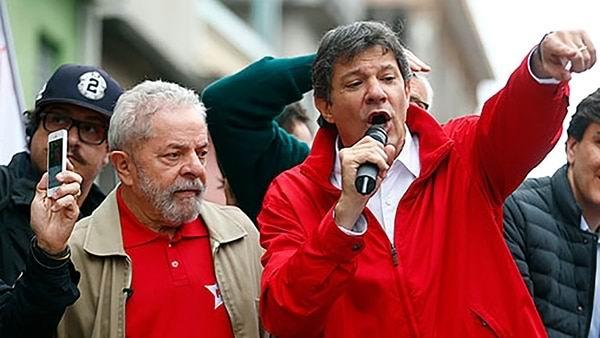 Se reunirán Lula y Haddad para definir rumbo de la campaña electoral