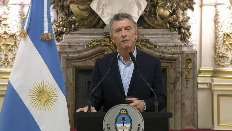 Argentina pide rescate al FMI