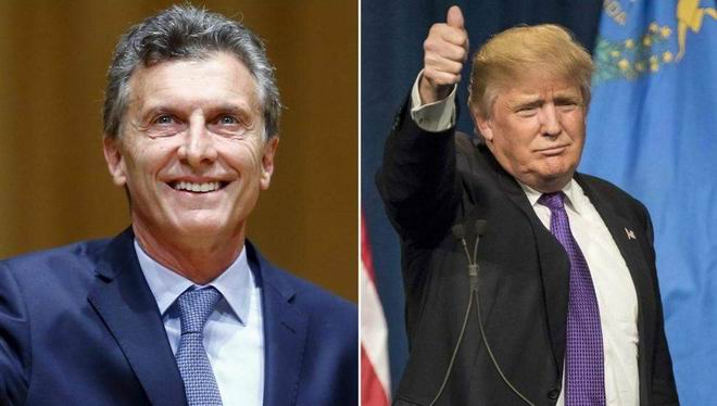 El presidente Mauricio Macri y su par estadounidense Donald Trump felicitaron a Bolsonaro