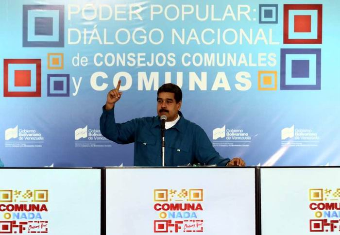 Maduro reitera llamado al gran diálogo por la paz en Venezuela