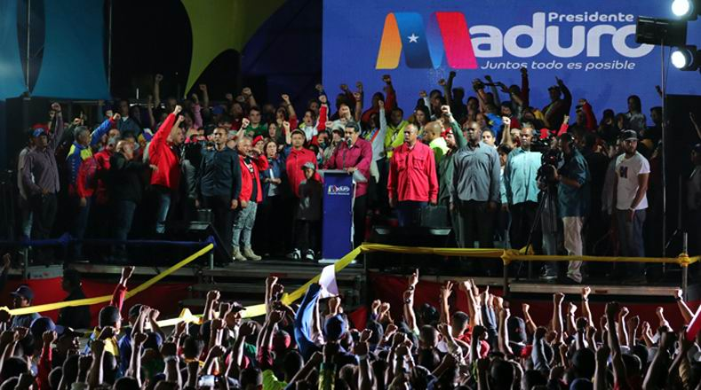 Reelecto presidente venezolano Nicolás Maduro