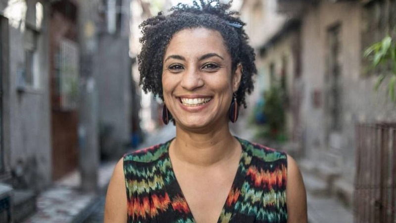 Concejala brasileña Marielle Franco asesinada en marzo pasado