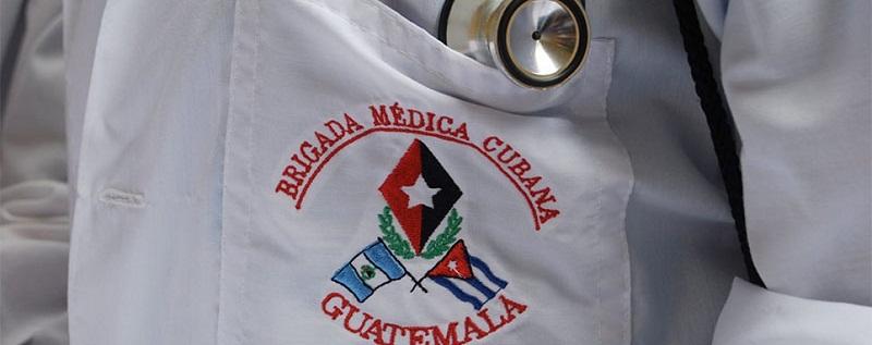 Una vez más los médicos cubanos solidarizados con Guatemala