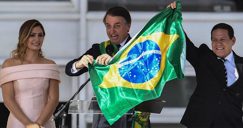 Jair Bolsonaro planea abrir una base militar de Estados Unidos en Brasil