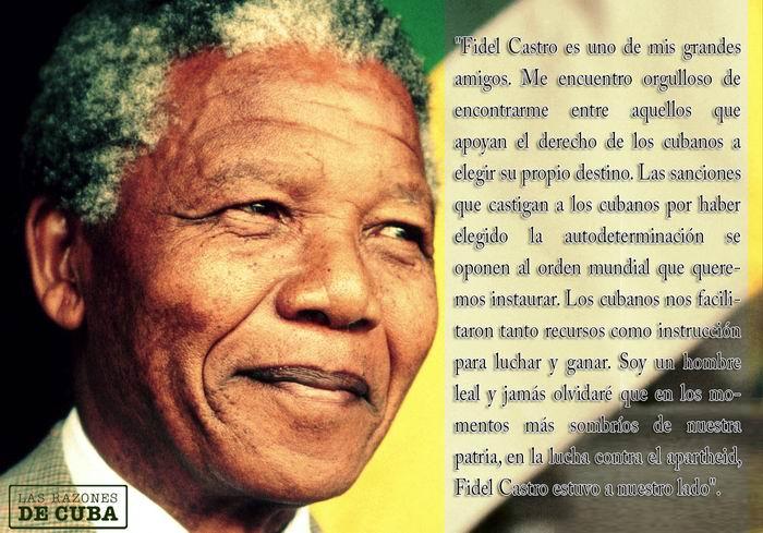 Fidel y Mandela: el sueño de hacer del mundo un mejor lugar