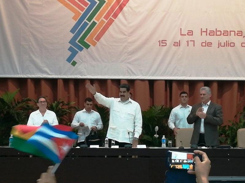 Asiste Díaz-Canel a sesión final del Foro de Sao Paulo