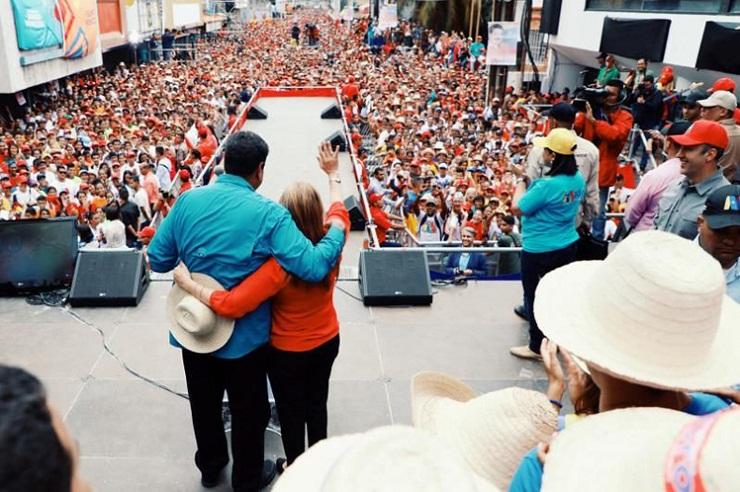 Despliega Nicolás Maduro intensa campaña rumbo a las presidenciales