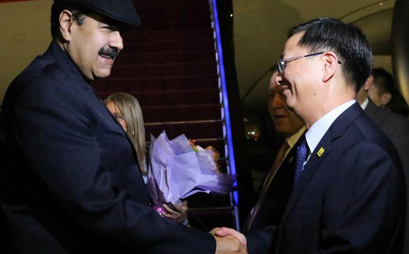 Presidente de Venezuela inicia visita a China