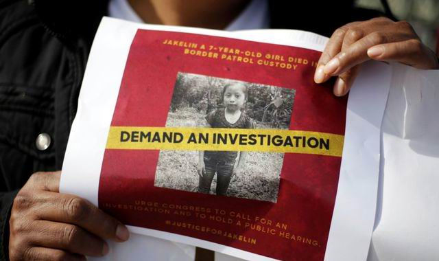 Piden familiares de niña migrante fallecida investigación del caso